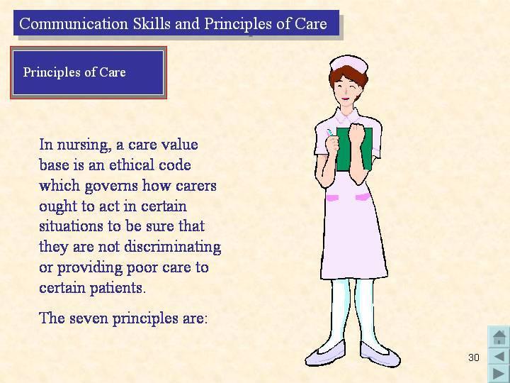 care value base 7 principles